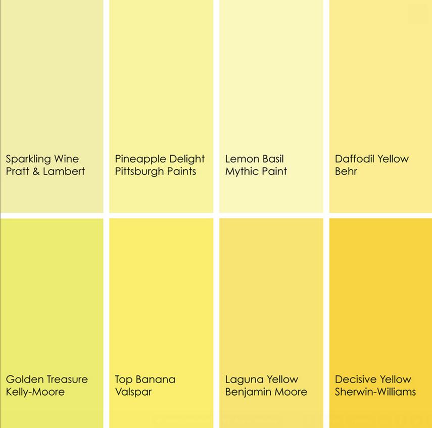 resultado de imagen para tono amarillo pastel muebles de