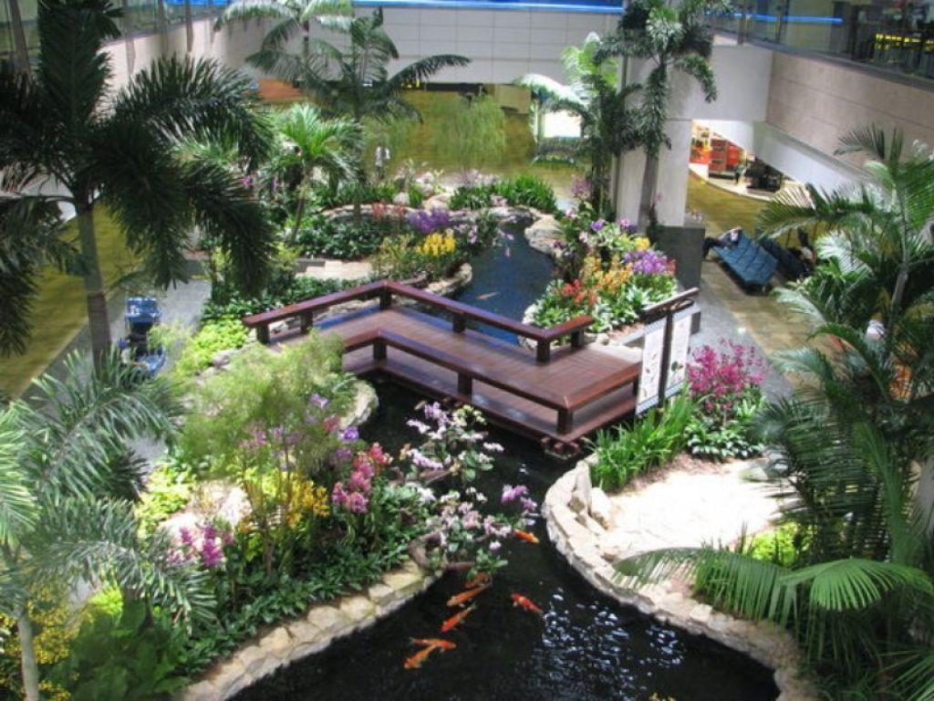 Outdoor , Principles of Japanese Garden Design Giving Everlasting ...
