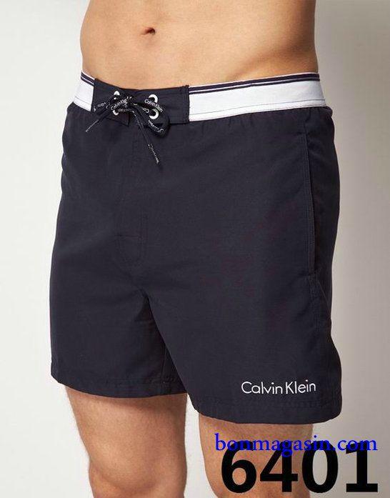 Vendre Pas Cher Homme Calvin Klein Boardshort H0003 En ligne En France.  Maillots De Bain ...