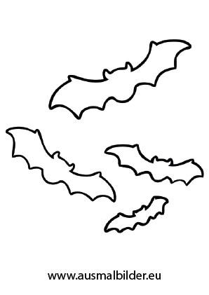 Ausmalbild Halloween Fliegende Fledermause Halloween Vorlagen Ausdrucken Halloween Ausmalbilder Ausmalbild