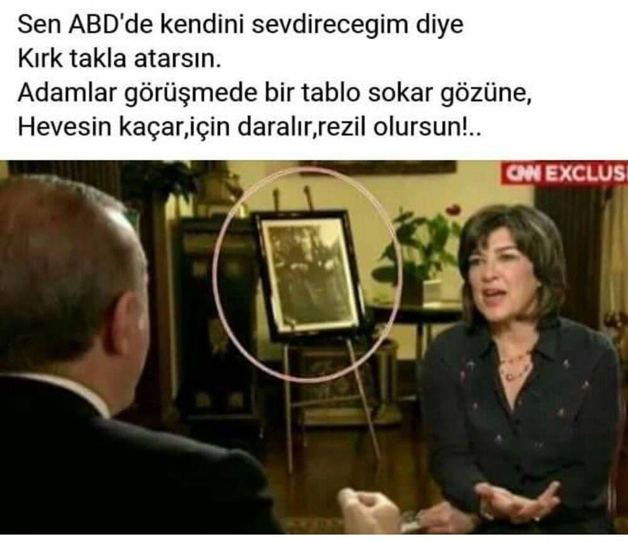 Atatürk resmi gelsin asrın liderine hahaha