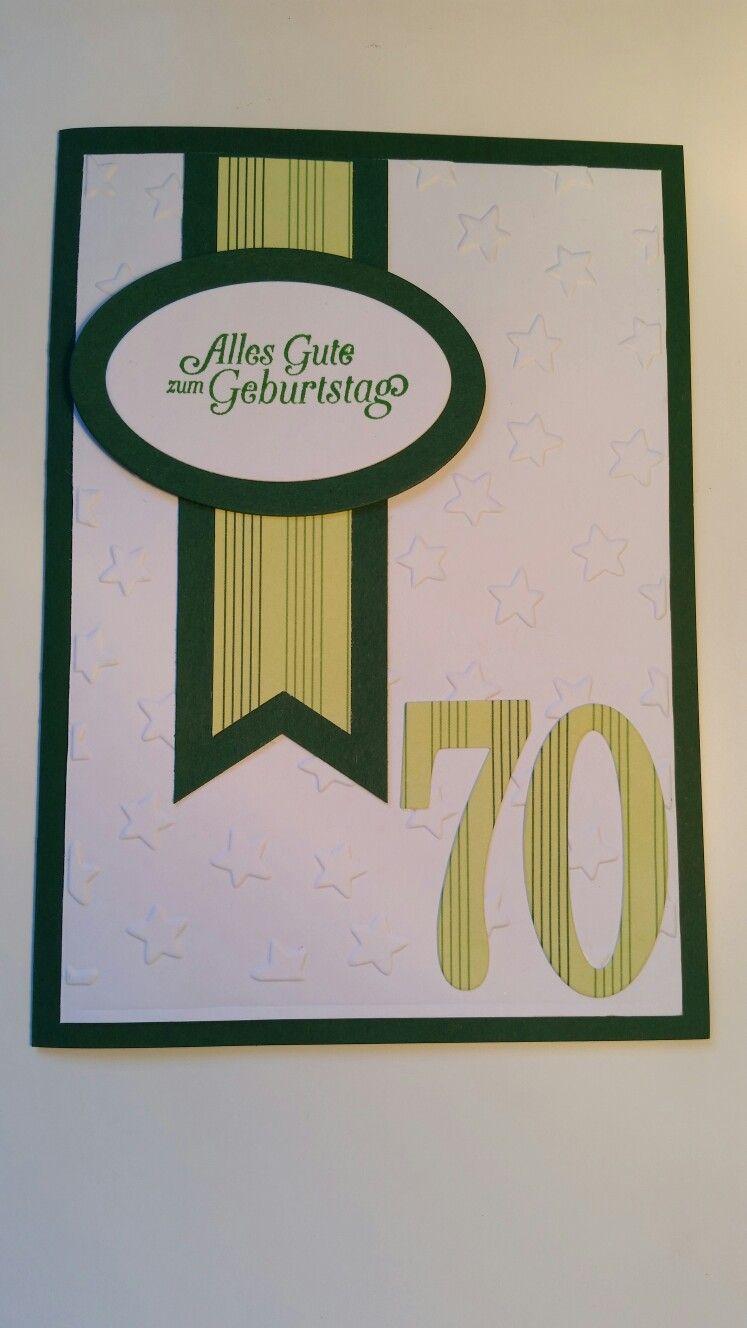 70 Geburtstag Mann