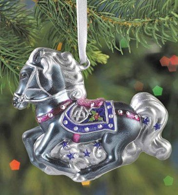 Breyer Silverbelle Blown Glass Ornament 2nd in Series