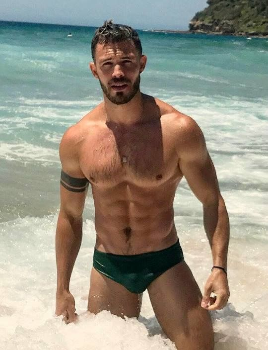 Are not sexy men at the beach apologise, but