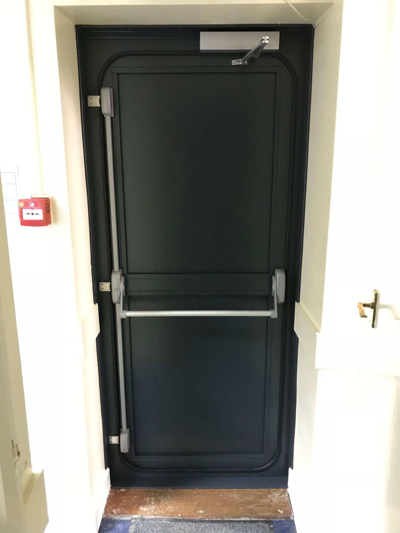 Steel Flood Door designed by Buffalo Flood Systems. A stylish and robust flood defence product & Steel Flood Door designed by Buffalo Flood Systems. A stylish and ...