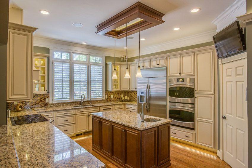 50 Gorgeous Kitchen Designs With Islands | Kitchen design ...