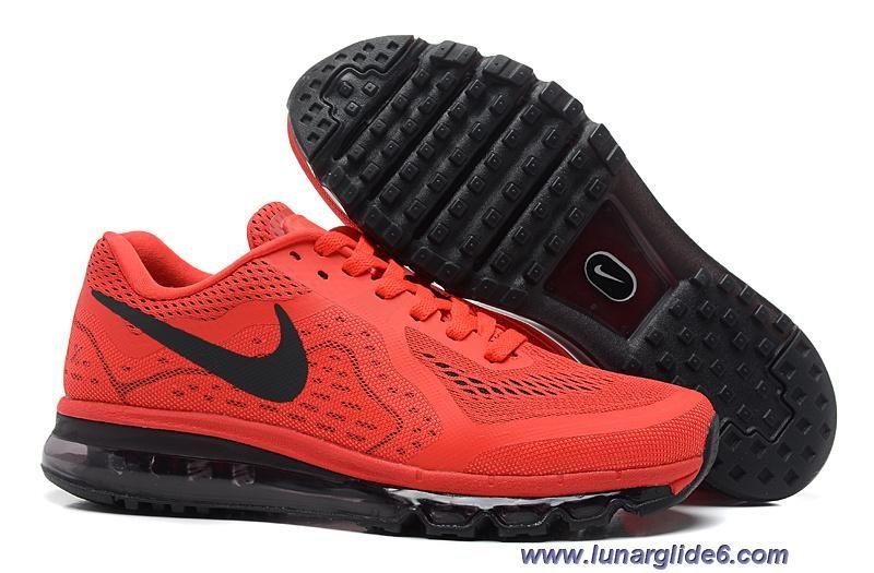 Hohe qualität Nike Air Max 2014 Herren Schuhe Weiß Schwarz