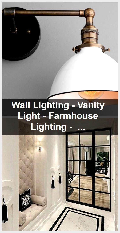 Photo of Wall Lighting – Vanity Light – Farmhouse Lighting – Bathroom Fixture – Wall Lamp – Adjustable…
