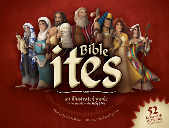 Bible ites: Meet new, exciting ites—now from the Bible! Israelites, Canaanites, Hittites, and more—the Bible is filled with ites! From Adam to Zacharias, the people of the Bible teach us powerful lessons.