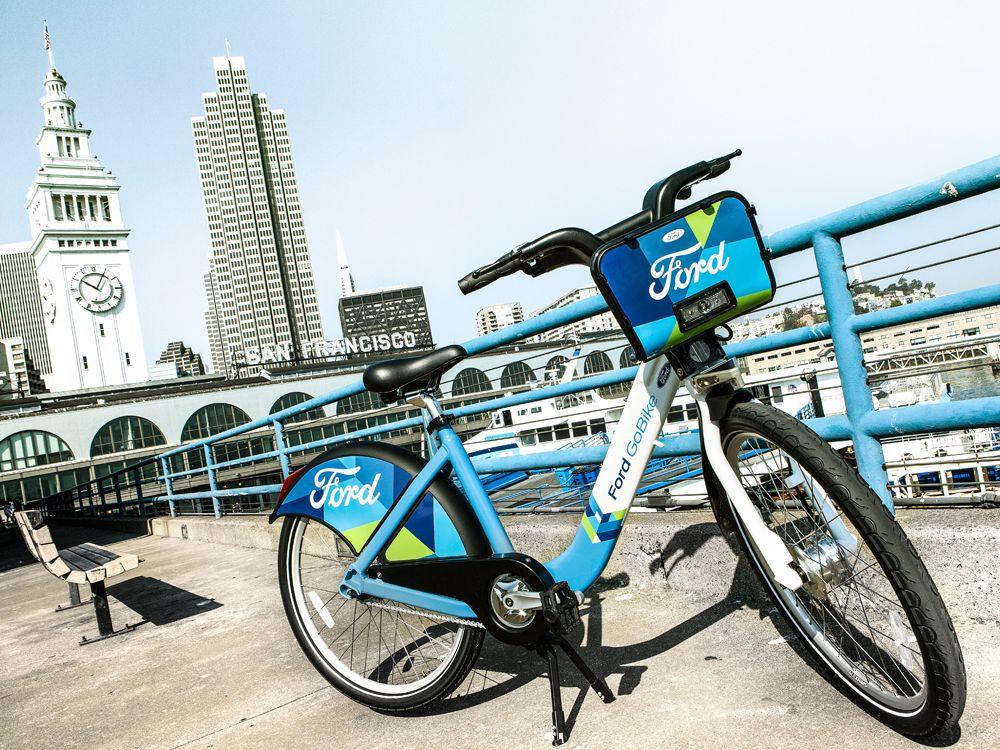 Ford Taking Over San Francisco S Bay Area Bike Share Expanding From 700 To 7 000 Bikes Bike Deals Bike Share Bike