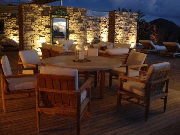 St. Barths Residence on the Caribbean Islands   Backyard ...