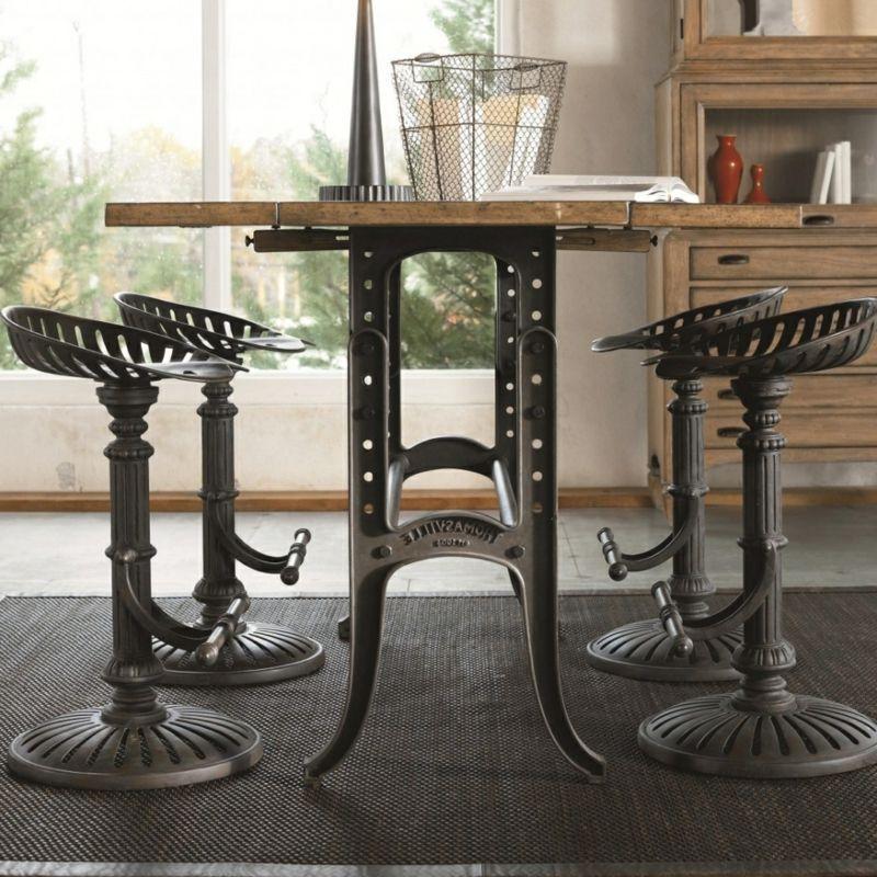 Einzigartige Industrial Möbel Stuhl, Tisch und Möbel - antike mobel modernen wohnraumen
