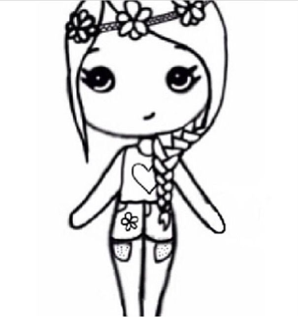 Flower Child Chibi Cute Best Friend Drawings Chibi Drawings