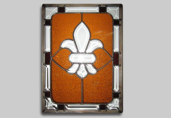 Quot Fleur De Lis Quot By Darrin Stell 2011 Stained Glass