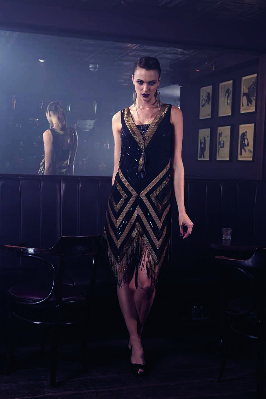 9b26e9f1d59d Collection 8 Giselle Flapper Dress by Phase Eight