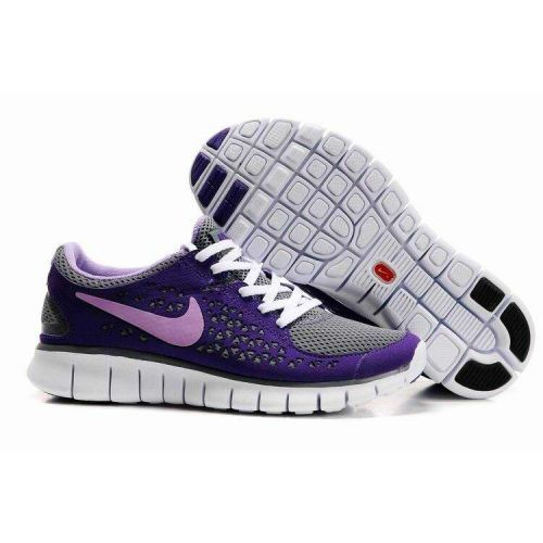 differently 2fb87 92f8d cheapshoeshub com Cheap Nike free run shoes outlet, discount nike free  shoes Gray Purple Nike
