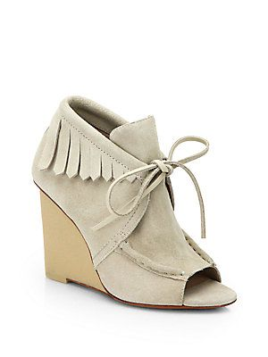 10+Crosby+Derek+Lam Zared+Suede+Wedge+Ankle+Boots   I SO want these things