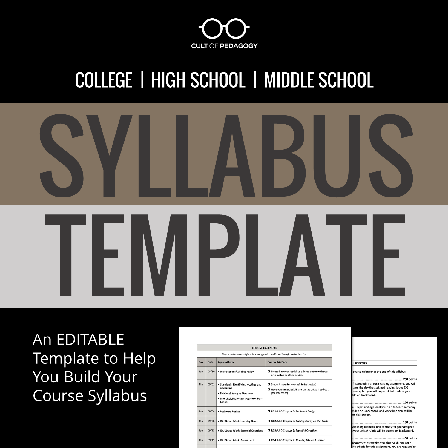 Syllabus Template Syllabus Template Syllabus Teaching College
