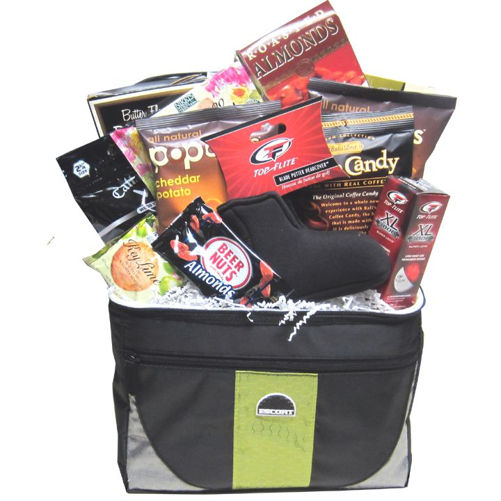Executive golf gift basket golf gifts unique gift