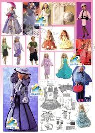 Patrones de ropa para barbie gratis