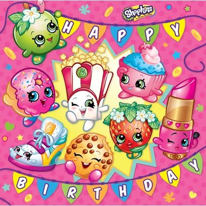 photograph about Shopkins Birthday Card Printable identified as Shopkins Satisfied Birthday Card Shopkins inside 2019 Shopkins