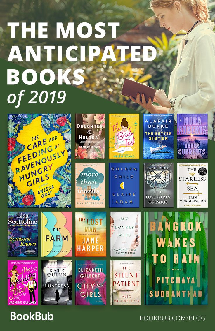 The Most Anticipated Books of 2019 #bookstoread