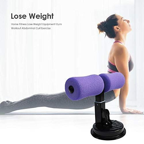 PAVITR SHOP Fitness Equipment Sit-ups and Push-ups Assistant Device Lose Weight Gym Workout Abdomina...