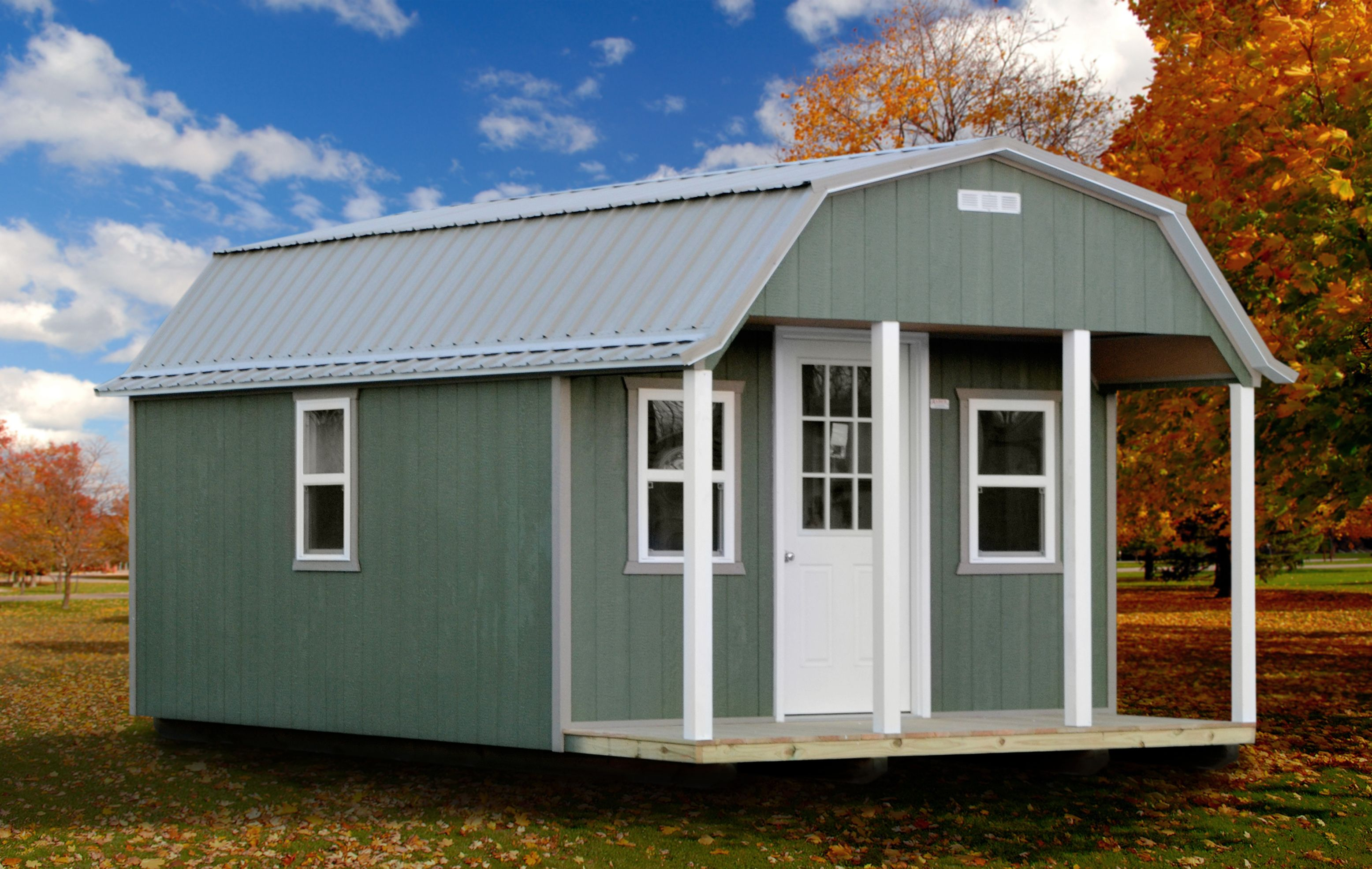 She-Shed Painted or Stained. | Barn storage, Shed, Built ...