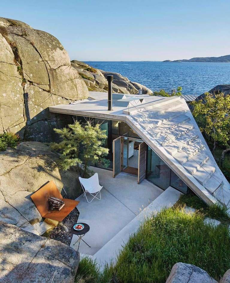 Vesterøya, Vestfold Photo: Nils Vik Small cabin
