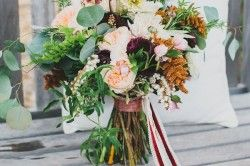 Beautiful colors in this lovely bouquet