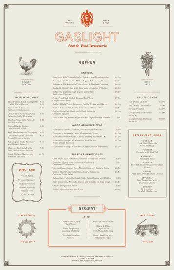 Delicious Design..menu