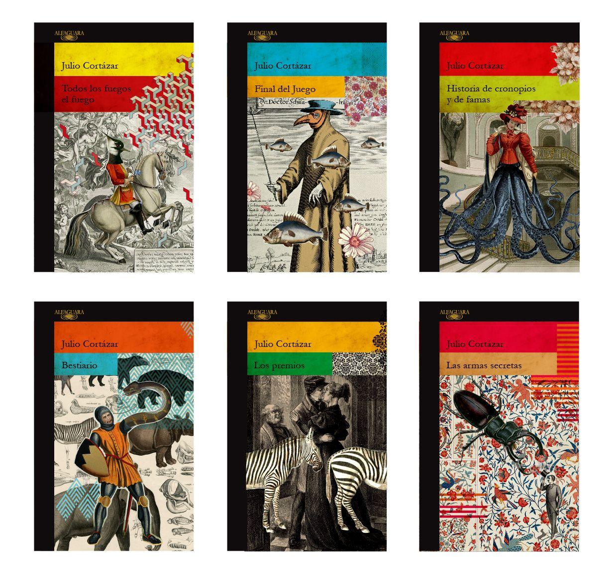 Penguin Random House Book Cover Competition : Book cover collection julio cortazar for alfaguara