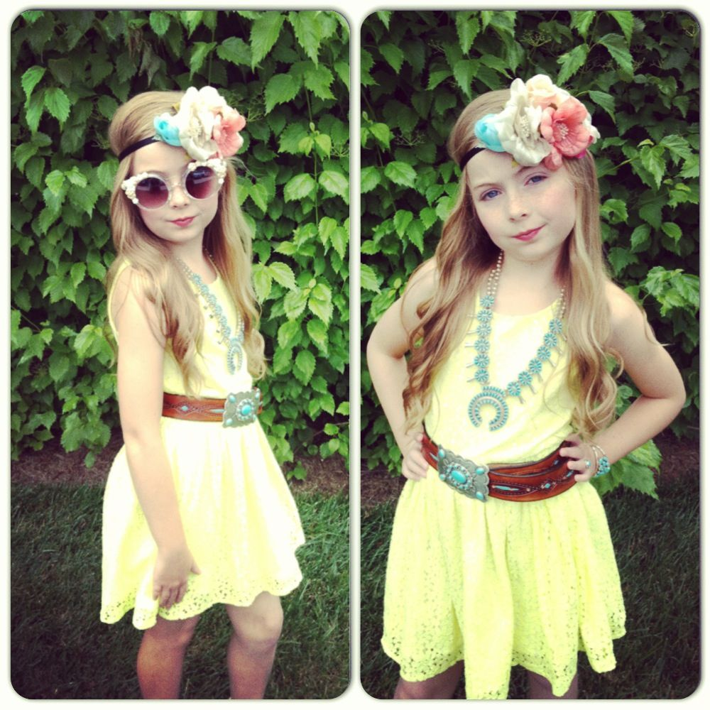Fashion Kids Girl Coachella Boho (With Images)