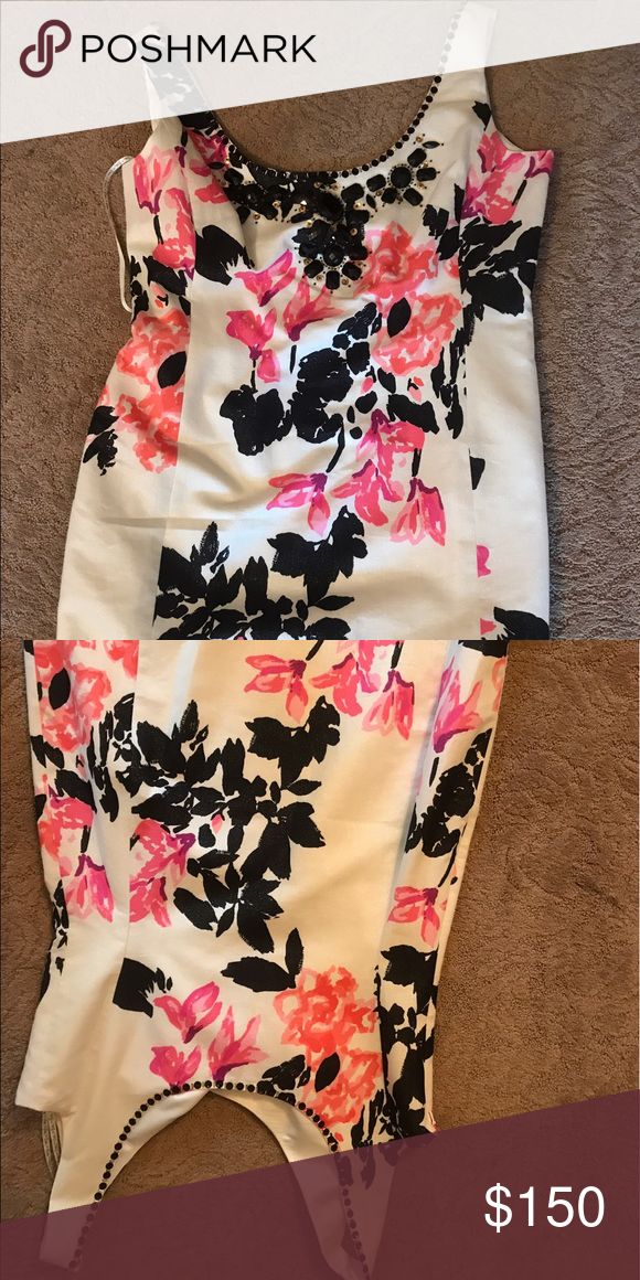 Lilly Pulitzer Portia Dress ONLY WORN ONCE! Great condition Lilly Pulitzer dress which is super cute for any occasion! and perfect colors for any accessories! Lilly Pulitzer Dresses Mini