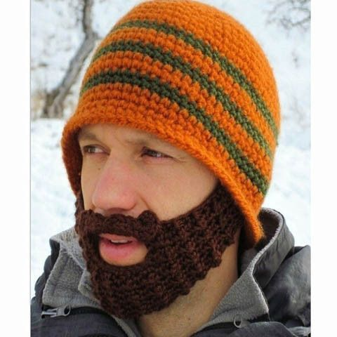 Clearance Striped Knit Ski Face Mask Hats for Man Face masks, Ski