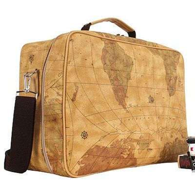 Brown world map design travel bag shoulder cross purse maps brown world map design travel bag shoulder cross purse gumiabroncs Choice Image