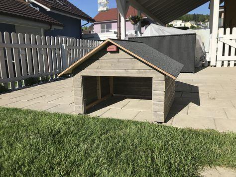 schicke Mähroboter Garage für CHF 390. nur 1 Stück