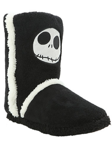 The Nightmare Before Christmas Gifts for Teen Girls:  Jack Girls Slipper Boots @ Hot Topic.  And Happy Halloween!