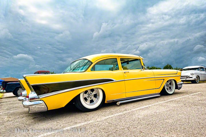 1957 Chevy… First Classic car I loved.  Her lines still catch my eye today!!  …