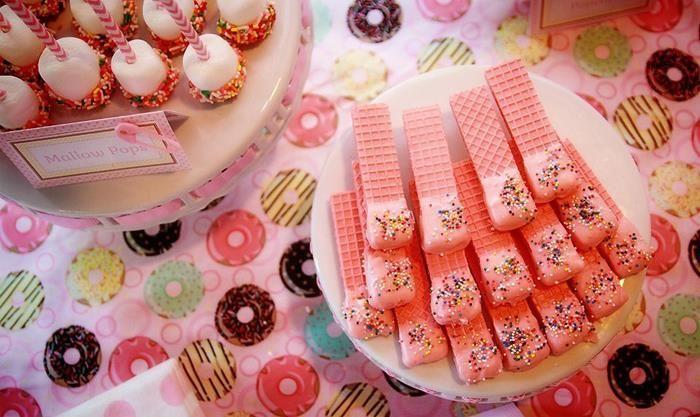 pink baby sprinkle via kara 39 s party ideas kara 39 spartyideas. Black Bedroom Furniture Sets. Home Design Ideas