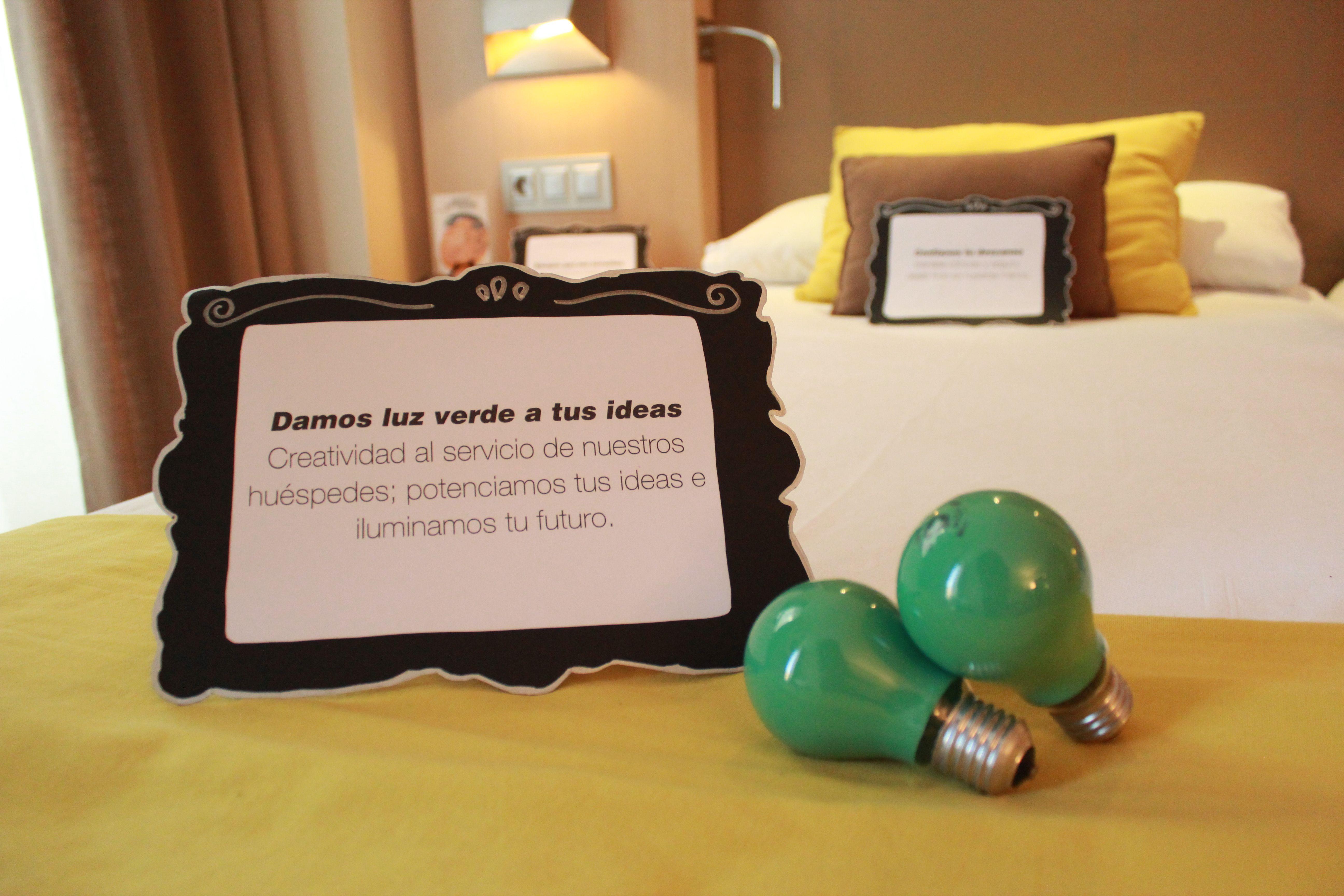 Display que llevamos para el evento Work Rooms en el Hotel Vincci Posada del Patio de #Málaga.
