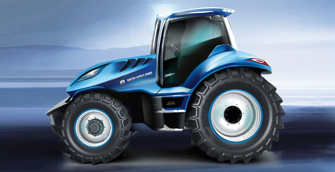 New Holland Methane Concept Fueling Innovation Auto Design