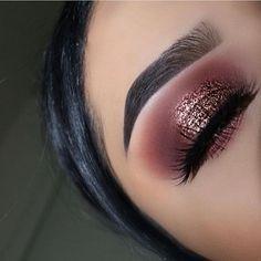 Beautiful Pink Eye Makeup Look Rose Gold Makeup Course Rose