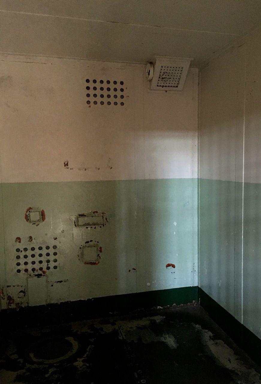 Inside Alcatraz The Hole Inside the Hole...