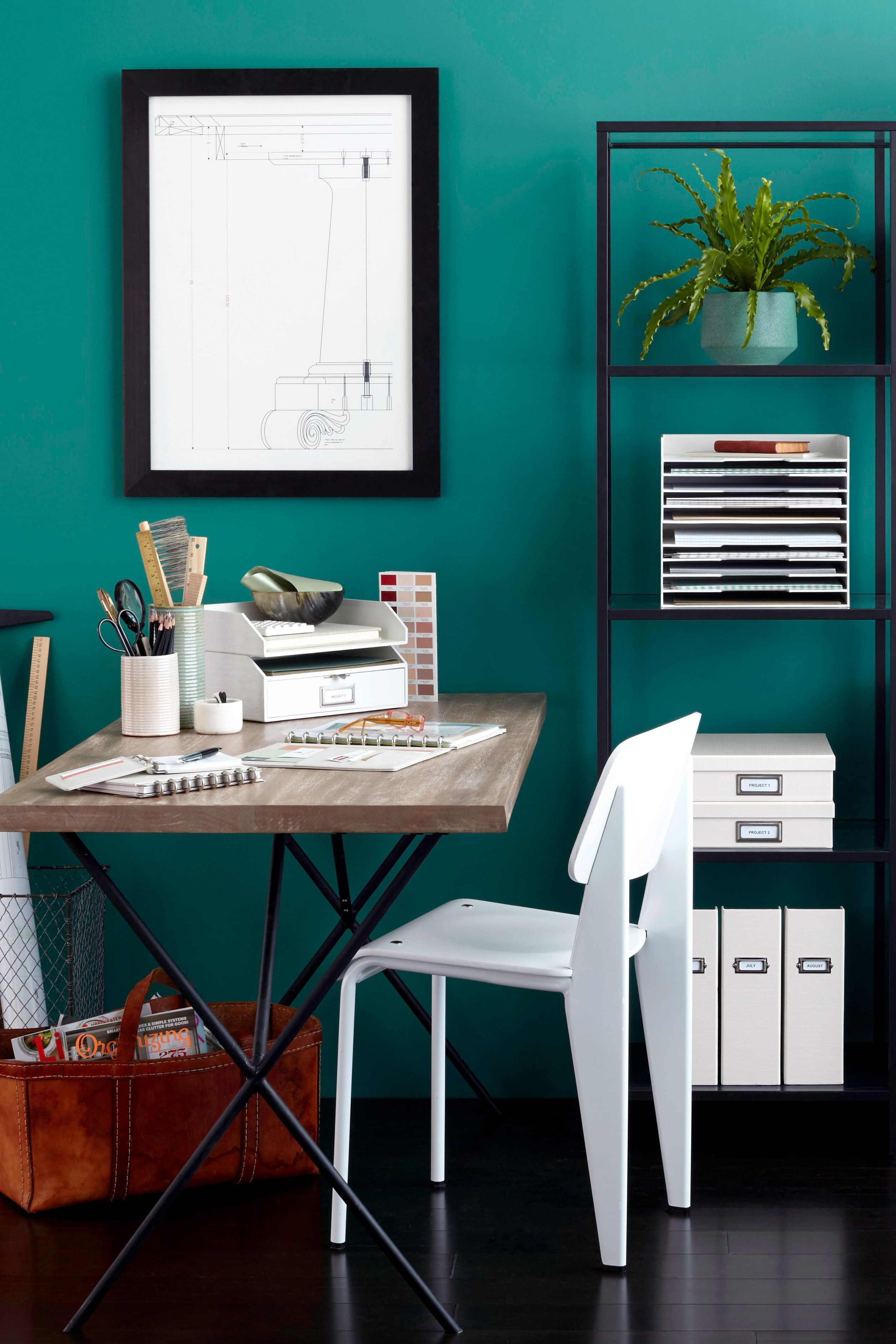 create an organized home workspace in 5 easy steps on beautiful home desk organization ideas make comfortable what it will do for you id=73637