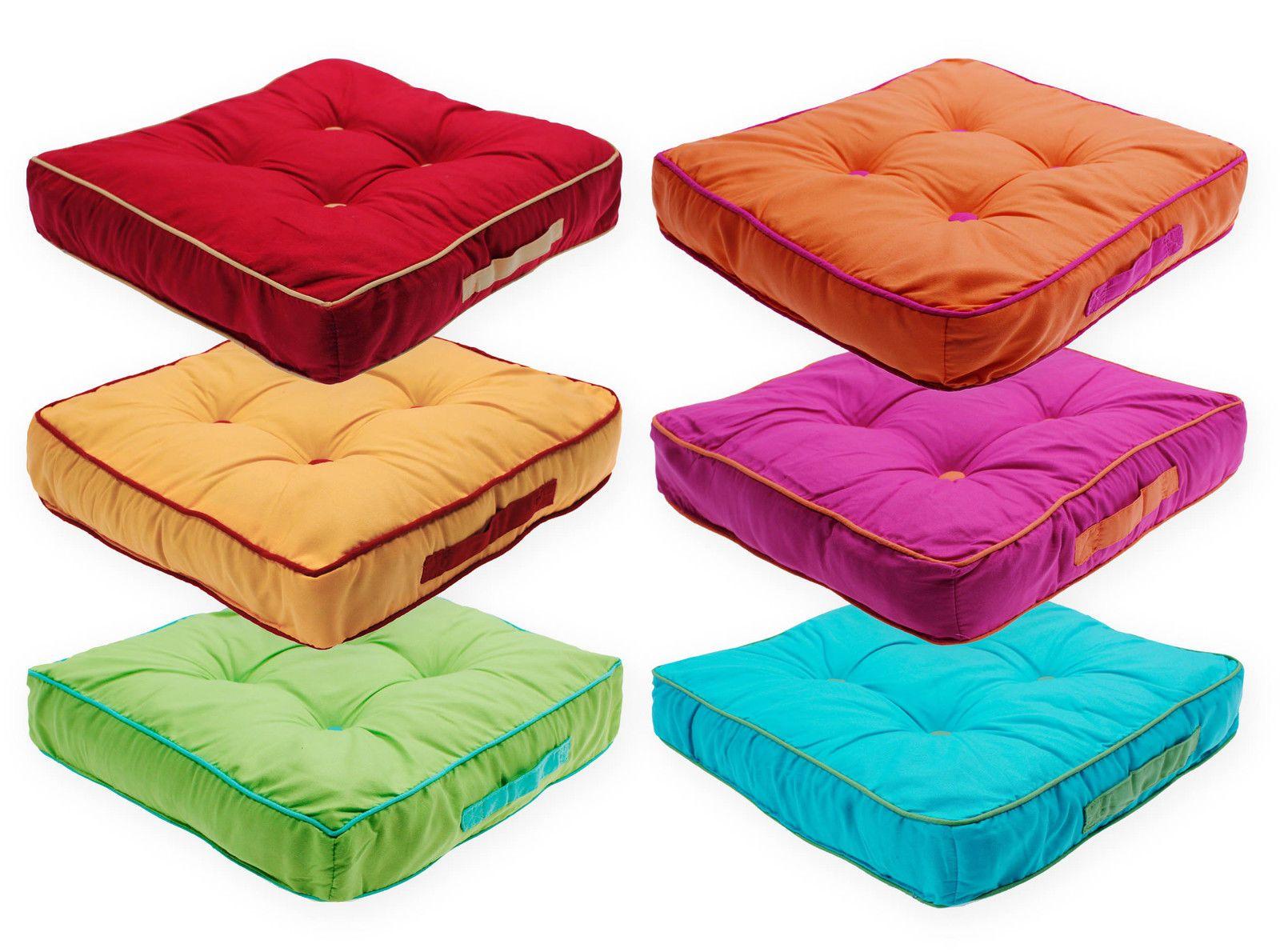 details zu matratzenkissen bi color sitzkissen sommer. Black Bedroom Furniture Sets. Home Design Ideas
