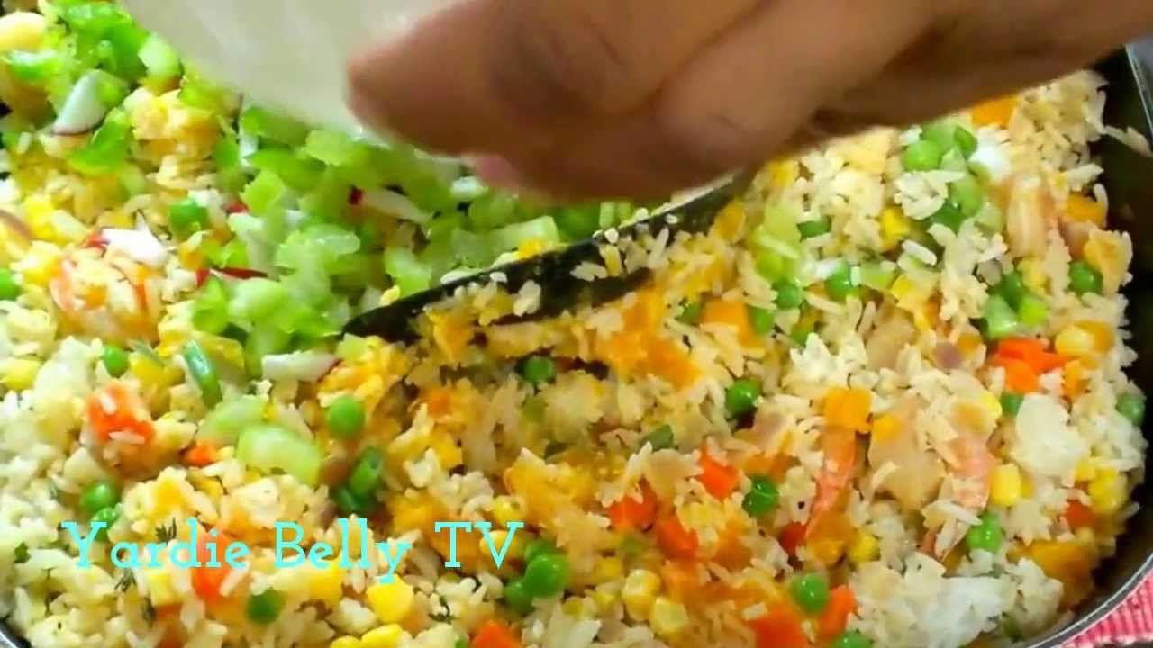 The Best Jamaican Seasoned Rice Jamaican recipes