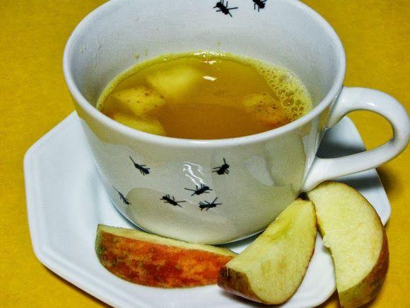 Casa dos Sonhos de Pano: Chá de Maracujá com Casca!!!