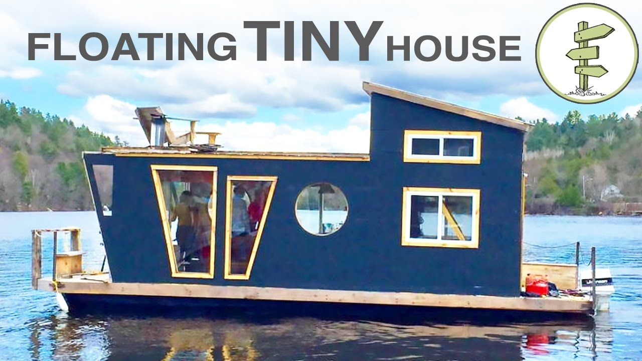Floating House Plans Living On A 4 Season Houseboat Beautiful Floating Tiny House