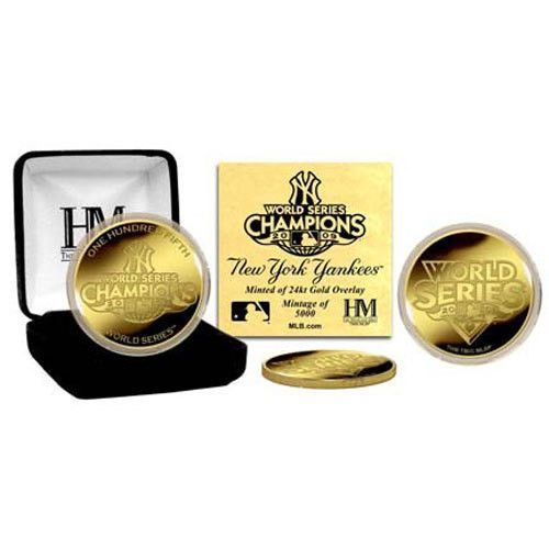 2009 World Series Champions 24KT Gold Coin